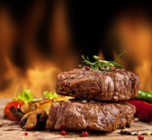 Beef steak — Stockfoto