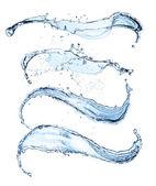 Su sıçraması — Stok fotoğraf