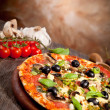 Delicious fresh pizza — Stock Photo #26705001