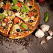 Delicious fresh pizza — Stock Photo #26710255