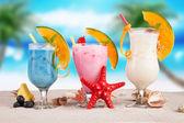 Sommer-drinks — Stockfoto