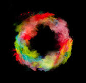 Colored dust — Stockfoto