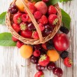 Fresh fruit — Stock Photo #29358151