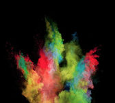 Colored dust — Stock Photo