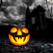 Halloween scary background — Stock Photo