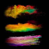 Polvere colorata — Foto Stock