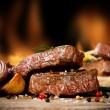 Beef steaks — Stockfoto #33144721