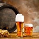 Beer still life — Stock Photo #34748353