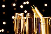 Champagne theme — Stock Photo