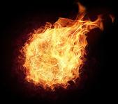 Fire ball — Stock Photo