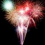 Firework on black background — Stock Photo #39396777