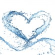 Foto Stock: Water heart