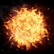 Stock Photo: Fire ball