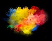 Colored powder — Stock Photo