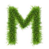 Gras-brief — Stockfoto