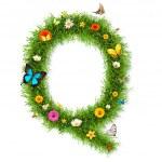 """Spring letter """"Q"""" — Stock Photo #41316993"""