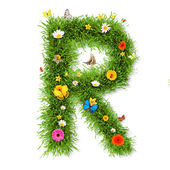 "Spring letter ""R"" — Stock Photo"