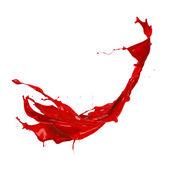 Splash rojo — Foto de Stock
