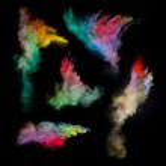 Colored powder — Stock Photo #45696131
