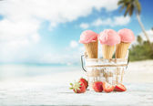 Ice cream — Foto Stock