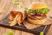 Fresh hambugers — Stock Photo