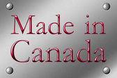 Made in Canada — Stock Photo