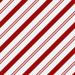 Red and White Striped Fabric Background with Gold Stars — Stock Photo #13138394