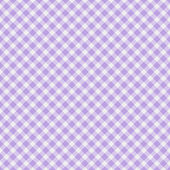 Light purple Gingham Fabric Background — Stock Photo