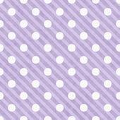 Lila und weiß gepunkteten stoff hintergrund — Stockfoto