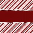 Christmas Candy Cane Striped background for your message or invi — Stock Photo #16299833