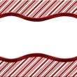 Royalty-Free Stock Photo: Christmas Candy Cane Striped background for your message or invi