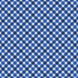 Navy Blue Gingham Fabric  Background — ストック写真