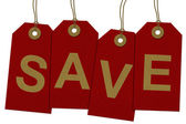 Save on your purchases — Stock Photo