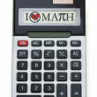 Stock Photo: I Hate Math Calculator