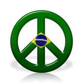 Peace in Brazil — Stock Photo