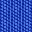 Stock Photo: Blue Cubes Pattern Background
