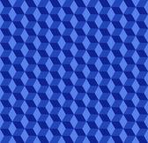 фон модель синий кубов — Стоковое фото