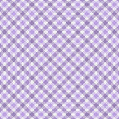 Purple Gingham Fabric Background — Stock Photo