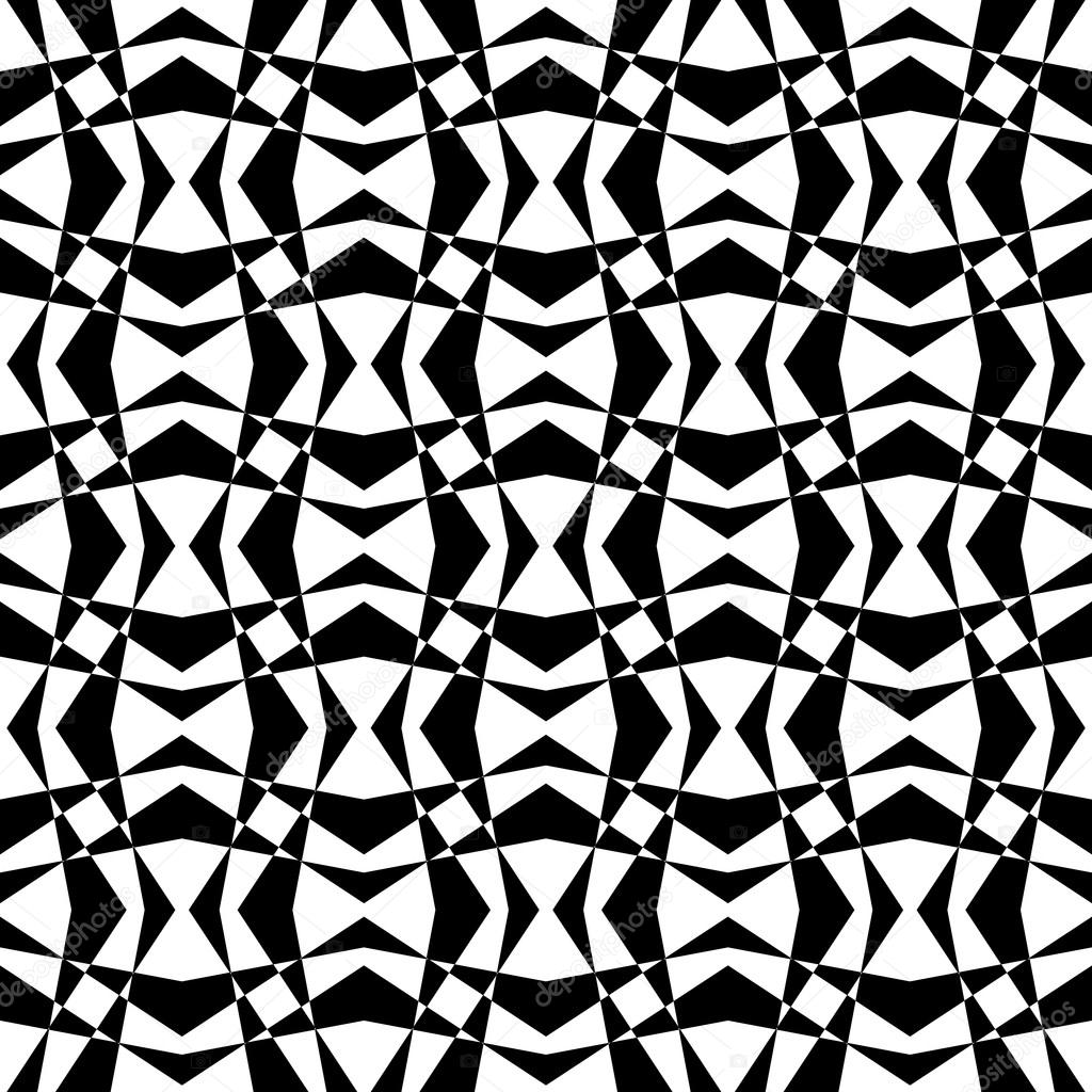 Black and White Geometric Design Background — Stock Photo ...