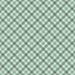 Stock Photo: Green Gingham Fabric Background