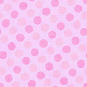 Pink Polka Dot Fabric Background — Stock Photo