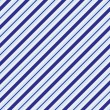 Stock Photo: Light and dark blue striped Fabric Background