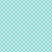 Light aqua blue Gingham Fabric Background — Stock Photo