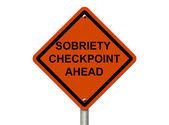 Stoppen met drinken en rijden — Stockfoto