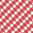 Light red Plaid Fabric Background — ストック写真