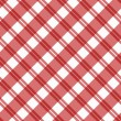 Light red Plaid Fabric Background — Lizenzfreies Foto