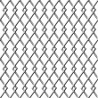 Chain Linked Fence Background - Stock Photo