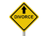 Heading for Divorce — Stock Photo