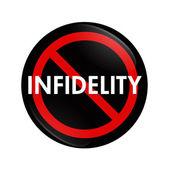 Stop Infidelity — Stock Photo