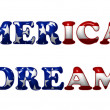 american dream — Stock Photo